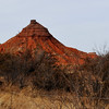 "A butte along Gulf Road in Major County also known as ""Oklahoma's Painted Desert"". (Staff Photo by BILLY HEFTON)"