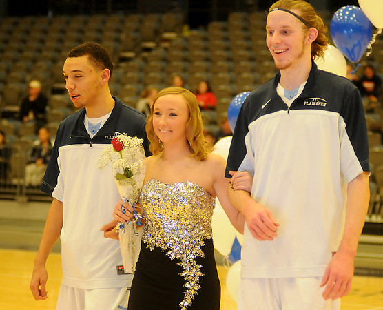 Enid High School Basketball Homecoming (Staff Photo by BONNIE VCULEK)