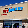 Customers enter PetSmart during the store's soft opening Monday. The store will hold it's grand opening Saturday January 18. (Staff Photo by BILLY HEFTON)
