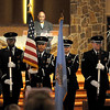 The Vance Air Force Base Silver Talon Honor Guard posts the colors during the singing of the National Anthem by Angelic Voices at the 26th annual Dr. Martin Luther King, Jr. Holiday Celebration Sunday, Jan. 19, 2014. (Staff Photo by BONNIE VCULEK)