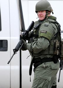 The Enid Police SWAT team members
