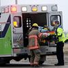Injury Accident at 900 W. Chestnut Friday, Jan. 02, 2014. (Staff Photo by BONNIE VCULEK)
