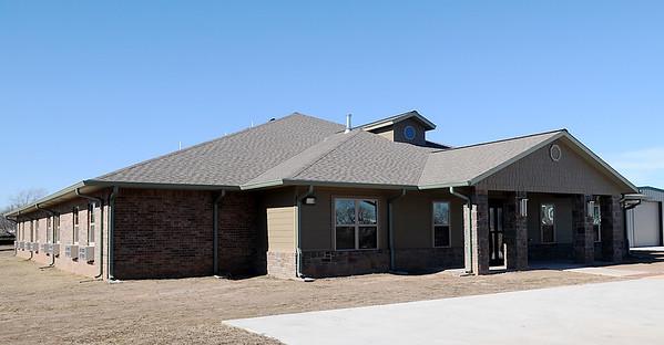 Fairchild Home in Billings, Oklahoma. (Staff Photo by BONNIE VCULEK)