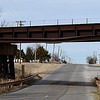 The railroad underpass in Fairmont is closed to tall trucks indefinitely after being damaged by a freight tanker. (Billy Hefton / Enid News & Eagle)