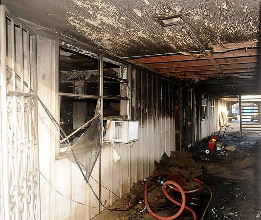 Apartment Fire 707 W. Randolph