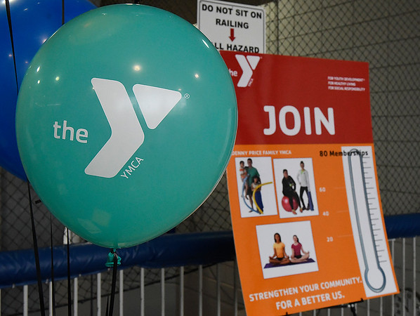 The Denny Price Family YMCA held it's annual fundraiser kickoff luncheon Thursday January 24, 2019. (Billy Hefton / Enid News & Eagle)