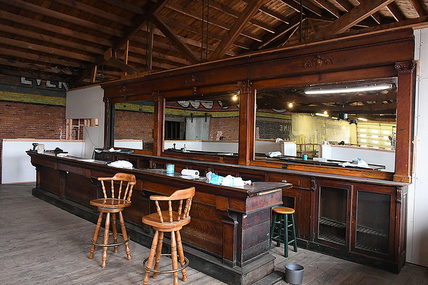 The bar inside Cherokee Ranch Land and Cattle Company Thursday, January 2, 2020. (Billy Hefton / Enid News & Eagle)