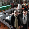 "Edna and Watermelon Campbellstand inside the Railroad Museum of Oklahoma Thursday, January 16, 2020. The museum will host a ""Sweatheart Express"" dinner Valentine's Day. (Billy Hefton / Enid News & Eagle)"