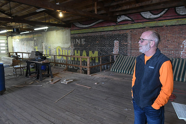 Rodney Brittain, managing partner Cherokee Ranch Land and Cattle Company, stands inside the restaurant during an interview Thursday, January 2, 2020. (Billy Hefton / Enid News & Eagle)