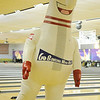 King Pin rocks out during National Dance Day video taping at Oakwood Bowl Saturday, July 27, 2013. (Staff Photo by BONNIE VCULEK)