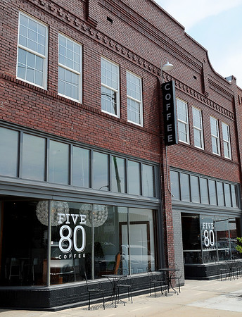 Five 80 Coffee will celebrate their grand opening during First Friday festivities in downtown Enid on July 5 at 6 p.m. (Staff Photo by BONNIE VCULEK)