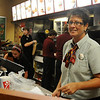 Connie Sturgeon-Hart assists customers at her Chick-fil-A business inside Oakwood Mall's Food Court Friday, July 19, 2013. The franchise's new location will be between My Dentist and Jackson's of Enid on Owen K. Garriott. Hart's business has been in the mall for the last 26 years. (Staff Photo by BONNIE VCULEK)