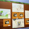 "Children ages 5-12, who are participating in ""DIG Into Reading,"" have their artwork and photograph on display at Park Avenue Thrift. The Oklahoman's Summer Reading Contest, in conjunction with the Oklahoma Department of Libraries' statewide program, encourages children to read during the summer. The contest runs each Sunday from June 2-July 21. (Staff Photo by BONNIE VCULEK)"