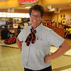 Connie Sturgeon-Hart appears near the entrance to her Chick-fil-A business inside Oakwood Mall's Food Court Friday, July 19, 2013. The franchise's new location will be between My Dentist and Jackson's of Enid on Owen K. Garriott. Hart's business has been in the mall for the last 26 years. (Staff Photo by BONNIE VCULEK)