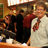 Connie Sturgeon-Hart pauses briefly behind the counter at her Chick-fil-A business inside Oakwood Mall's Food Court Friday, July 19, 2013. The franchise, which she opened in Oakwood Mall 26 years ago, will open between My Dentist and Jackson's of Enid on Owen K. Garriott. (Staff Photo by BONNIE VCULEK)