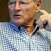 James M. Inhofe, U.S. Senator of Oklahoma, answers a question during an editorial meeting at the Enid News and Eagle Friday, July 19, 2013. (Staff Photo by BONNIE VCULEK)