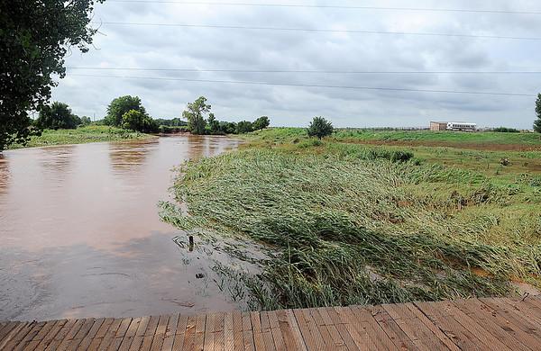 Rural Flooding (Staff Photo by BONNIE VCULEK)