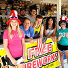 Central Assembly of God members welcome customers to TNT Fireworks Thursday, July 3, 2014. (Staff Photo by BONNIE VCULEK)