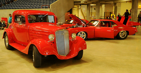 Anew Church's 3rd annual Car & Motorcycle Show at the Chisholm Trail Coliseum Saturday, July 12, 2014. (Staff Photo by BONNIE VCULEK)