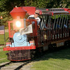 The Kiwanis Train returns to the station during Fourth of July festivities at Meadowlake Park Friday, July 4, 2014. (Staff Photo by BONNIE VCULEK)