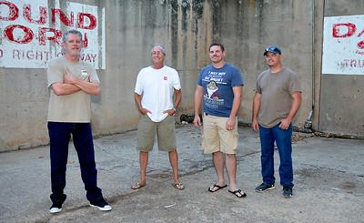 "Members of the band, ""The Johnsons"", (left to right) Duane Cashwell, Joe Burnett, Jeremy HIldebrand and David Schallock. (Staff Photo by BILLY HEFTON)"