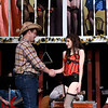 """Cast members rehearse the Gaslight Theater production """"Best Little Whorehouse in Texas"""" Wednesday July 19, 2017. (Billy Hefton / Enid News & Eagle)"""