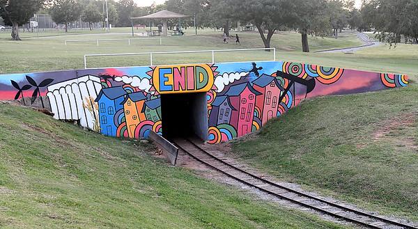 Meadowlake Park Mural