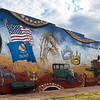 Mural in downtown Okeene Friday July 26, 2019. (Billy Hefton / Enid News & Eagle)