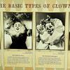 The Basic Types of Clowns included the Auguste, the Whiteface Neat and Grotesque, and The Character (Staff Photo by BONNIE VCULEK)