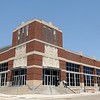 Individuals exit the Enid Event Center after the grand opening Wednesday, June 12, 2013. (Staff Photo by BONNIE VCULEK)
