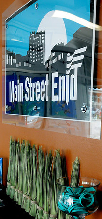 Main Street Enid is just one of the 501-C3 non-profit businesses that have moved their office into the CDSA Community Solutions' Non-profit Center. (Staff Photo by BONNIE VCULEK)