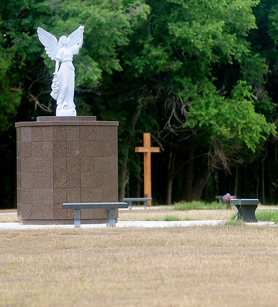 The Garden of Hope at Memorial Park Cemetery offers 3,000 spaces and cremation niches as part of the cemetery's one million dollar improvements. (Staff Photo by BONNIE VCULEK)