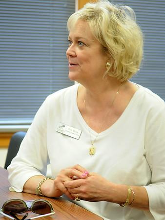 Erin McCoy, Upward Bound executive director at Northern Oklahoma College-Enid (Staff Photo by BONNIE VCULEK)
