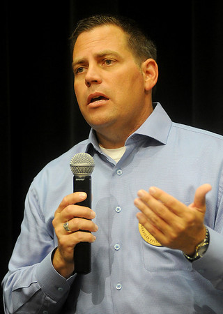 Mike Stuber, candidate for Okla. House District 40 (Staff Photo by BONNIE VCULEK)