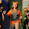 "Brooklyn Phillips (center) portrays Thomas O'Malley as she sings with other alley cats during a rehearsal for Gaslight Theatre's drama camp production of ""Aristocats"" Wednesday, June 18, 2014. (Staff Photo by BONNIE VCULEK)"