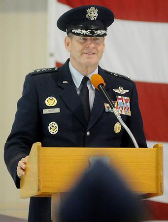 General Robin Rand, Commander, Air Education and Training Command, Joint Base San Antonio-Randolph, Texas (Staff Photo by BONNIE VCULEK)
