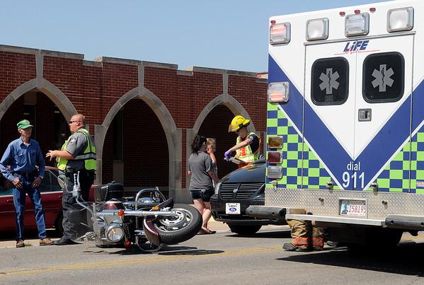 Motorcycle Vehicle Crash