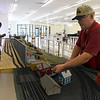Bill Buxton and David Elloitt set up a display for the CSMRA Trainfest to be held this weekend at Oakwood Mall. The show will be open Saturday June 10 9 a.m. - 3 p.m. and Sunday June 10 a.m. - 3 p.m. (Billy Hefton / Enid News & Eagle)