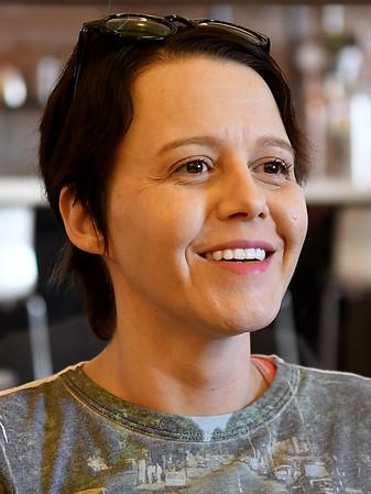 Voter Amber Gilbert