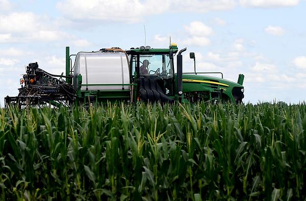 Fertilizing Corn