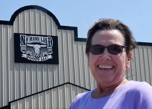 Betty Elder, No Man Land Foods. (Billy Hefton / Enid News & Eagle)