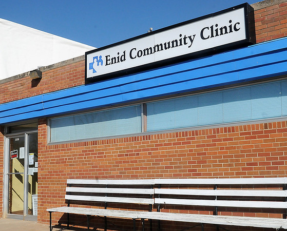 The Enid Community Clinic is located at 1106 E. Broadway. The facility will have a dental care clinic on March 20, 2013. (Staff Photo by BONNIE VCULEK)