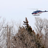 An Air Evac Life Team helicopter flies toward St. Mary's Regional Hospital Saturday, March 16, 2013. (Staff Photo by BONNIE VCULEK)