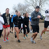 Runners begin the Warren Edds Memorial Civitan Chiller Challenge 5K run Saturday, March 9, 2013. Proceeds from the event support special olympics in Enid. (Staff Photo by BONNIE VCULEK)