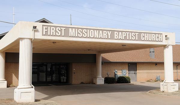 First Missionary Baptist Church (Staff Photo by BONNIE VCULEK)