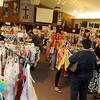 Shoppers fill the sanctuary at Grace World Outreach Church during the My Child To Yours consignment sale Friday, March 15, 2013. Funds from the sale support the Kenya orphanage each year. (Staff Photo by BONNIE VCULEK)