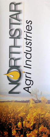 Northstar Agri Industries Banner (Staff Photo by BONNIE VCULEK)