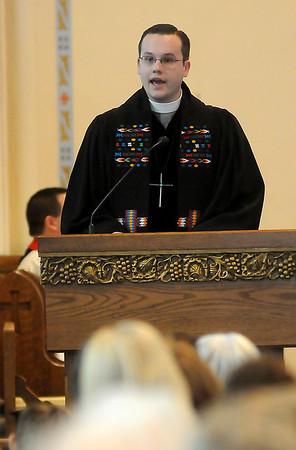 Rev. Andrew Long (Staff Photo by BONNIE VCULEK)