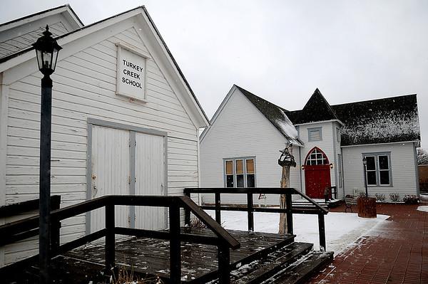 Humphrey Heritage Village Winter (Staff Photo by BONNIE VCULEK)