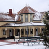 Humphrey Heritage Village Winter (Staff Photo by BONNIE VCULEK)